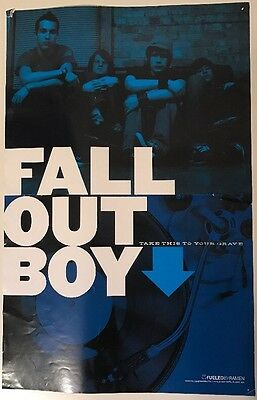"Fall Out Boy Take This To Your Grave 11""x17"" Poster"
