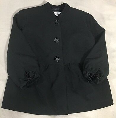Maternity 3 Button 3/4 Sleeve Black Career Jacket Medium Liz Lange for Target