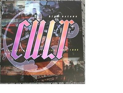CULT high octane Promo POSTER Flat collectible