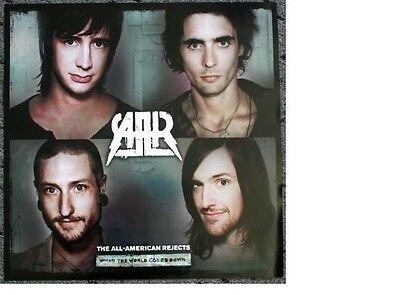 ALL-AMERICAN REJECTS promotional POSTER world down