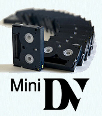 20 used Mini DV Tapes