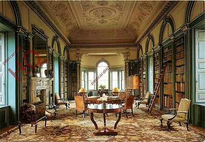 Postcard: Wimpole Hall, The Library