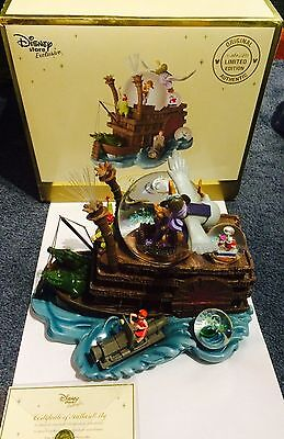 Mega Rare Disney The Rescuers Large Snow Globe Limited Edition 262/950 WW Boxed