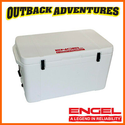 Engel 150 Litre Ultra Cool Rotomoulded Ice Box Food Grade Polyethylene - White