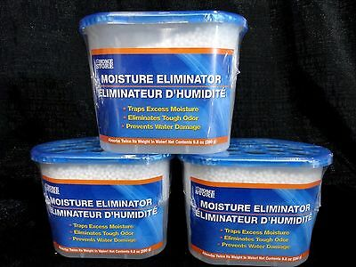Home Store MOISTURE ELIMINATOR self contained units 3 boxes Home Boat RV