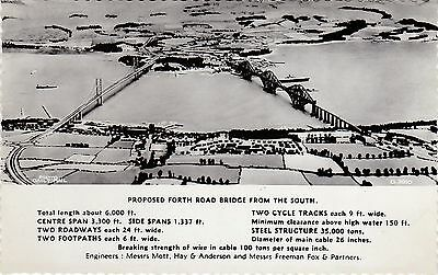 Aerial View Of Proposed Forth Bridge, SOUTH QUEENSFERRY, West Lothian RP