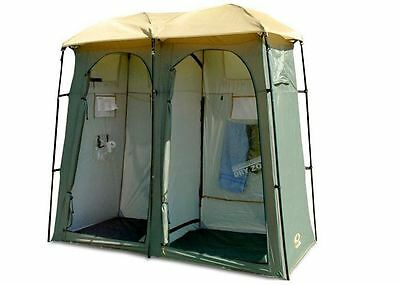 Outdoor Connection Double Outhouse Toilet Shower Tent - TDO.02 - BRAND NEW