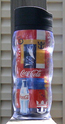 Coca Cola Royal Caribbean Cruise Line Travel Mug 18 oz