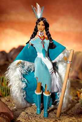 2002 Spirit of the Water Barbie Doll Native Spirit Collection NRFB (A)