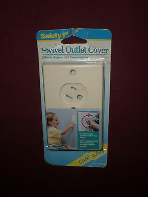 1992 Safety 1st Swivel Outlet Cover New Sealed