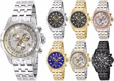 Invicta Specialty Chronograph Mens Watch many styles available!