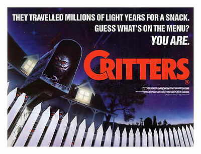 CRITTERS Movie POSTER 11x17 D Dee Wallace Stone M. Emmet Walsh Billy Green Bush