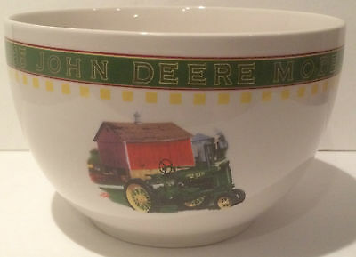 Large John Deere Mixing Bowl Perfect for Popcorn or Chips, Free shipping