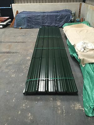 Brand New 14ft Box Profile Jupiter Green Roofing Sheets