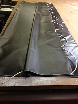 """May Fit Ifor Williams Car Trailer Cover Flat Sheet Cover 10 Ft 6 """"x 8 Ft & Cord"""