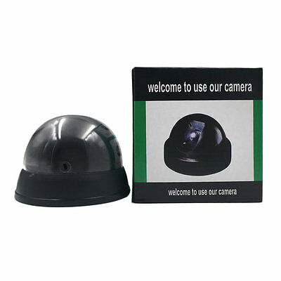 Dummy Imitation Surveillance CCTV Security Dome Camera with LED Light L0