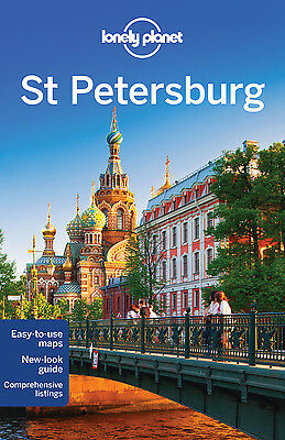 Lonely Planet ST PETERSBURG 7 (Travel Guide) - BRAND NEW PAPERBACK