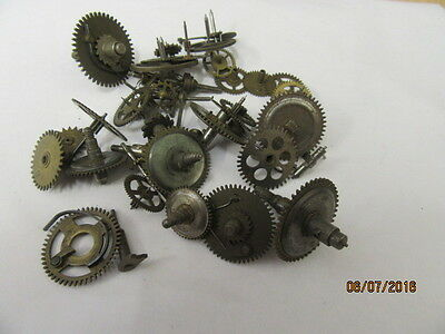 Selection Of Clock Wheels 100 grams approx steam punk