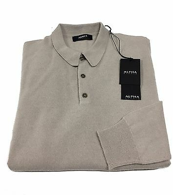 ALPHA STUDIO men's pole mastic 70% lana 30% cashmere