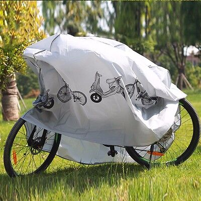 Bike Bicycle Rain Dust Cover Waterproof Garage Outdoor Cycling Scooter Protector