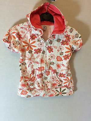 Girls Zara Kids Zipped Fleece Hoodie Age 5-6 Years