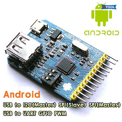 1PC  FT311D development board USB to I2C / SPI / UART / GPIO / PWM for Android
