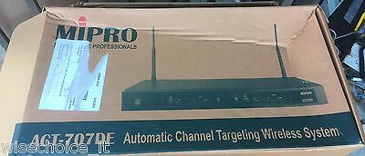 Mipro Act-707De Automatic Channel Receiver  Rrp $605