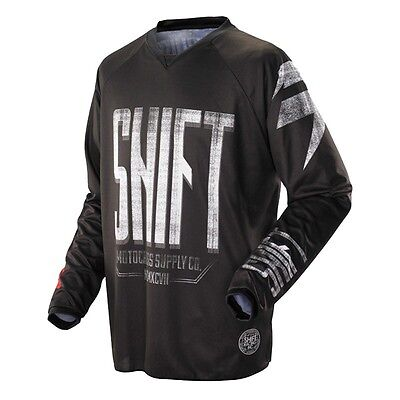 $35 Shift Racing Men's Recon Blocked Jersey Black Size L