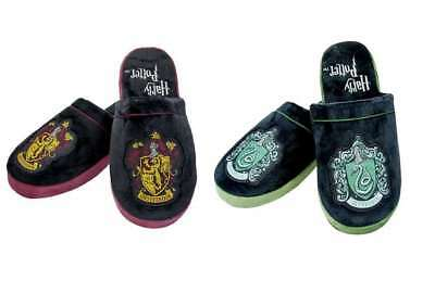 New Official Harry Potter Gryffindor Slytherin High Quality Mule Slippers Size