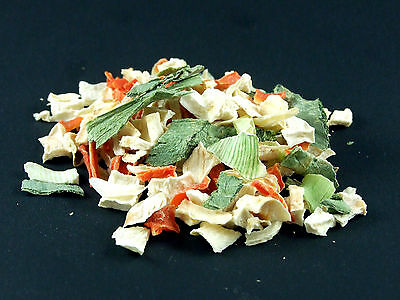 DRIED CUT VEGETABLE MIX natural ingredient for cooking or snack for pets 500g