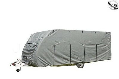 ROYAL Caravan Cover 14-17' - 5.2m - Grey - 923001