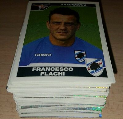 200 Figurine Calciatori Panini 2004/05 Album Lotto Stock 2005