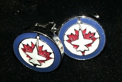 Winnipeg Jets Hockey Cufflinks Brand New
