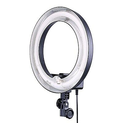 """Dimmable Ring Light 14"""" 50W 400W equivalent  Continous CameraPhotoVideoLighting"""