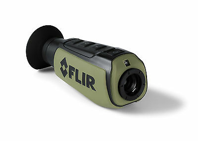 FLIR Scout II 320 Monocular Night Vision Thermal Camera Sees up to 550 Yards Out