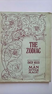 Man, Myth and Magic suppliments :- THE ZODIAC and CAST YOUR OWN HOROSCOPE - RARE