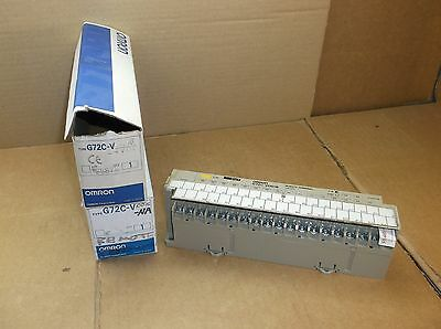 G72C-VOD16 DC24 Omron PLC NEW In Box Remote I/O 16 Point Output Module G72CVOD16