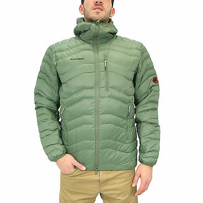 Mammut Broad Peak Light IN Jacket Herren Winterjacke Daunenjacke Grün 750 cuin