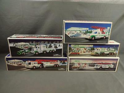 Hess Truck Lot 2013 2000 1989 1991 1994 Tractor Fire Engine Rescue Racer Carrier
