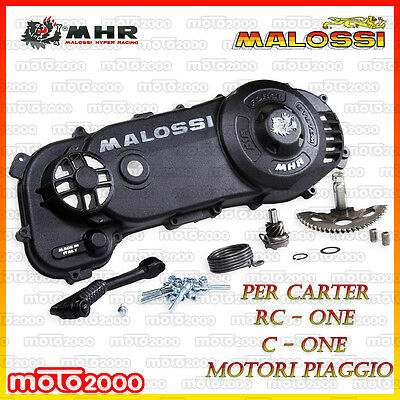 Air Force Coperchio Carter Malossi Mhr Per Piaggio Nrg Power Doppio Disco 50 2T