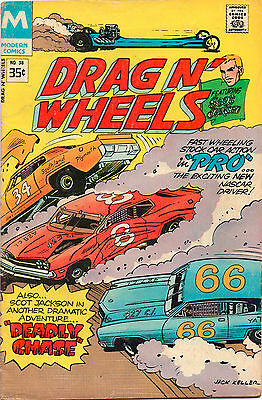 Drag N' Wheels #58 - Scot Jackson Deadly Chase - 1978 (Grade 6.0)