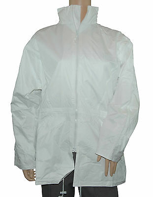 CATHEDRAL Breathtex Jacket Mens Small - XXXXL Showerproof Lined White Bowls