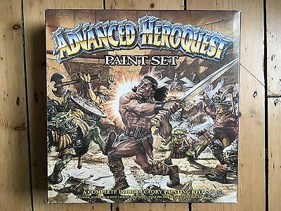 Rare Advanced Heroquest Paint Set - Box and minitaures only - Games Workshop