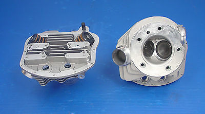 Replica Stock Bore Cylinder Heads For Harley 1963-65 Fl Panhead 10-1074