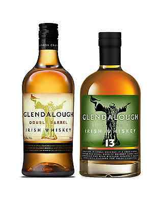 Glendalough Whiskey Pack - Double Barrel & 13 Year Old Irish Whiskey 700mL