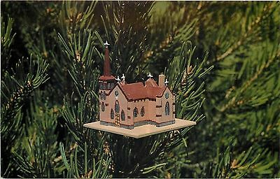 Roswell New Mexico~St Peter Church~Miniature Replica~1960s Postcard