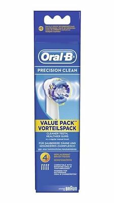 GENUINE ORAL B Braun Precision Clean Electric Toothbrush Replacement Brush Heads