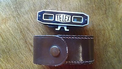 Vintage TELEX Rangefinder In Leather Case Shoe Mount Camera Accy Germany