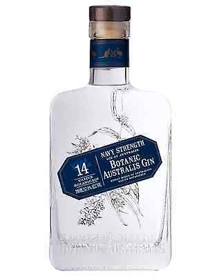 Mt Uncle Distillery Botanic Australis Navy Strength Gin 700mL case of 6