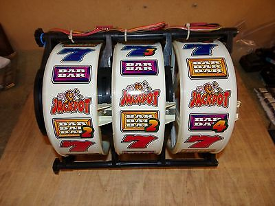 x2 old 1990's Barcrest fruit machine REELS